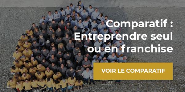 Comparatif : Entreprendre seul ou en franchise